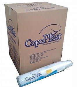 Copo Plast 400ml Translúcido C/50