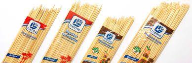 Espeto Bambu Theoto 300x3,5 C/50
