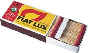 Fósforo Extra Longo Fiat Lux CX C/24 UNI