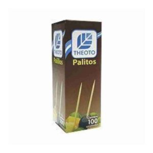 Palito Dental Theoto 25x100