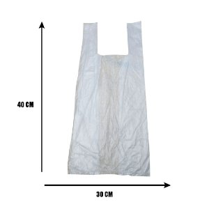 Sacola Transparente 30x40 C/1000