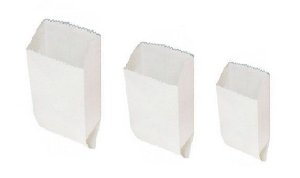 Saco Kraft Branco Pastel 1 kg C/500