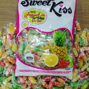 Bala Sweet Kiss Sortida 600gr