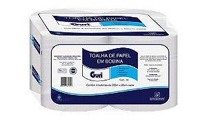 Papel Toalha Bobina Guri 20cmx200mt C/4