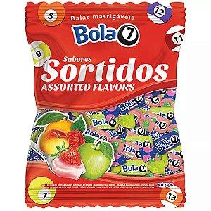 Bala Mastigável Bola 7 600gr - Sabores