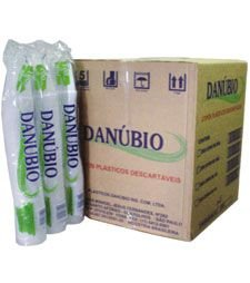 Copo Danubio Trans. 300ml PC/100