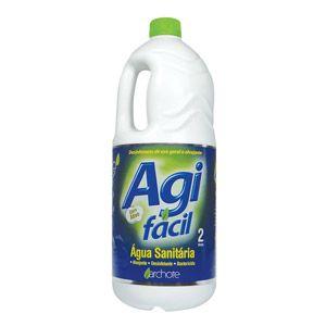 Água Sanitária Agifácil 2L CX C/6