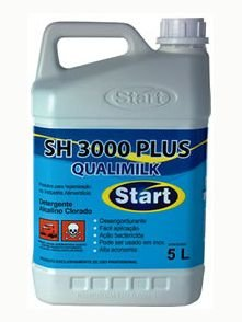 Detergente Start Alcalino Clorado (Diluir) 5L