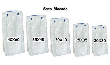Saco Blocado 30x40 C/1000
