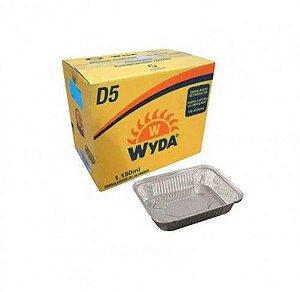 EMBALAGEM RETANGULAR D-5 1150ML WYDA C/100