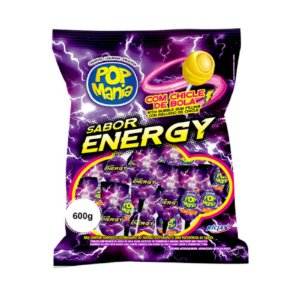 Pirulito Pop Energy Pct C/50 Uni