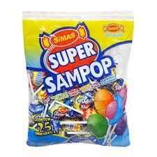 Pirulito Super Sampop Sam's C/25