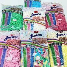 Mini Bala Decorativa Junco C/500gr - Cores/Sabores