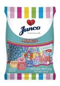 Mini Bala Junco 60gr - Sabores