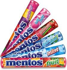 Drops Mini Mentos Sabores Cx C/16