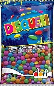 Confeito Disqueti 1,010 Kg Chocolate
