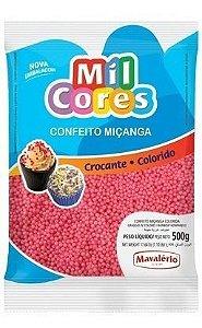 Confeito Miçanga Cores 500g