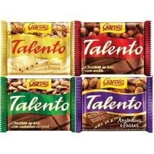 Chocolate Talento Sabores 90g Cx C/12