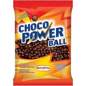 Choco Power Ball Mavalério ao Leite 500g
