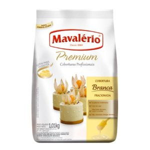 Cobertura Mavalerio Gotas Chocolate Branco 1,010 Kg