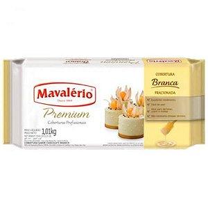 Cobertura Mavalerio Premium Chocolate Branco 1,010 Kg