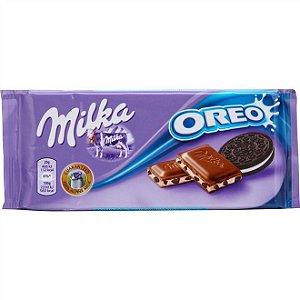 Barra Chocolate Milka Oreo 100gr