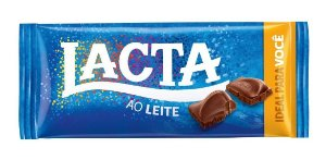 Chocolate Lacta ao Leite Cx C/17