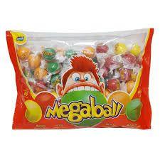 Chiclete Megaball Sortido c/80