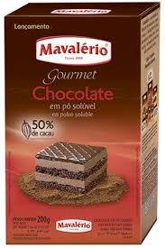 Chocolate em Pó Mavalerio 50% Cacau 200g