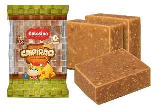 Caipirão Embrulhado Amendoim  Gulosina 1,1 Kg C/20