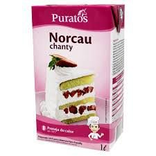 Chantilly Norcau Chanty  Puratos Tradicional 1L