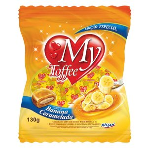 Bala My Toffee 600gr - Sabores