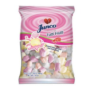 Bala Aniversário Tutti-Frutti 400gr