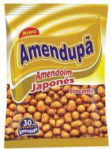 Amendoim Salgado Japonês Amendupã 400g