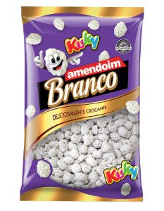 Amendoim Chocolate Branco Kuky 500g