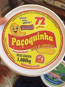 Paçoquinha Rolha Desembrulhada Pote 1,080 Kg
