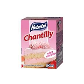 Chantilly Hulalá Morango 200ml