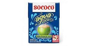 Água De Coco Sococo 200ml