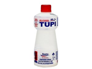 Álcool Líquido Neutro Tupi  500ml Cx C/12