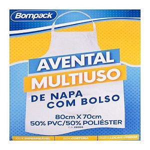 Avental de Napa Bompack Branco 80x70