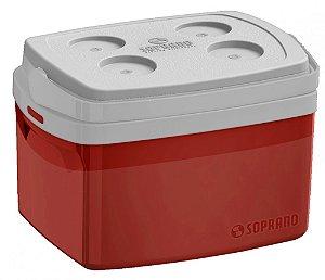 Caixa Térmica  Tropical  Vermelha 12L