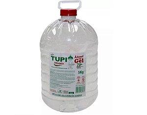 Desinf. Antisséptico Tupi Álcool Gel  70º 5 Kg