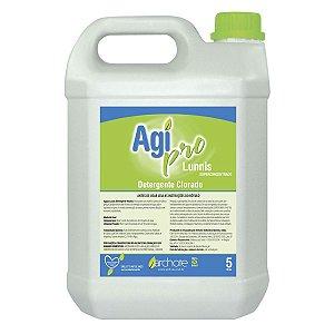 Detergente Clorado Agi Pró Lunnis 5L