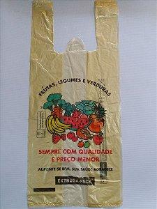 Sacola Plástica 38x48 Frutas e Legumes C/3 Kg