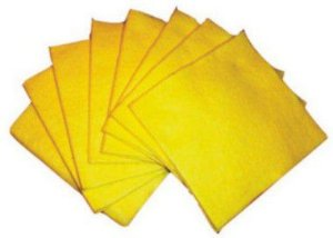 Pano de Pia Amarelo Uni