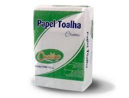 Papel Toalha Interfolha Creme Qualilux C/1000 Fls