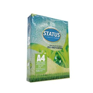 Papel Sulfite Branco A4 Status C/100