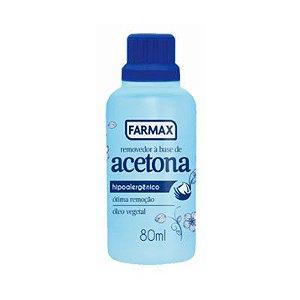 Removedor de Esmalte  Farmax 80 ml