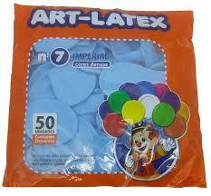 Balão Liso Art-Látex Cores N7 C/ 50