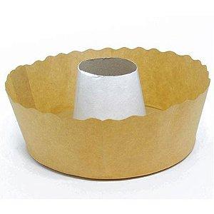 Forma Torta Suiça Kraft  15x6 C/100